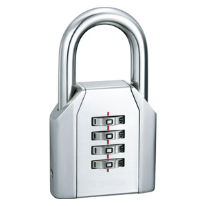 STAINLESS STAINLESS STEEL DIAL PADLOCK